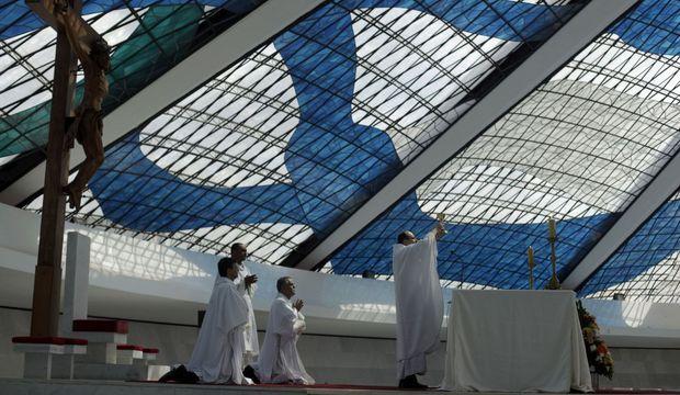 Cathédrale Brasilia Ricardo Moraes Oscar Niemeyer-