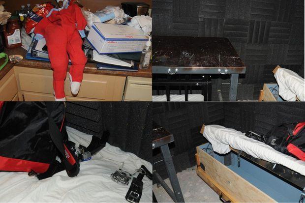 Le procureur de Boston a dévoilé quelques unes des images prises dans la cave de Geoffrey Portway.