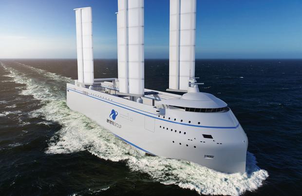 Ce bateau transportera en 2022 les diff érents éléments d'Ariane 6, construits en Europe, jusqu'à Kourou en Guyane, d'où décollera la fusée.