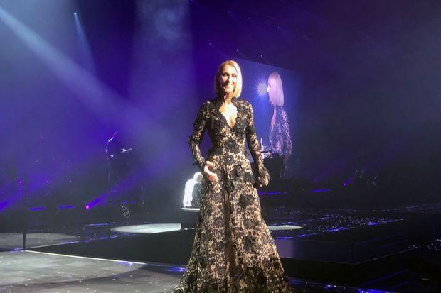 Céline Dion, mercredi soir à Québec.