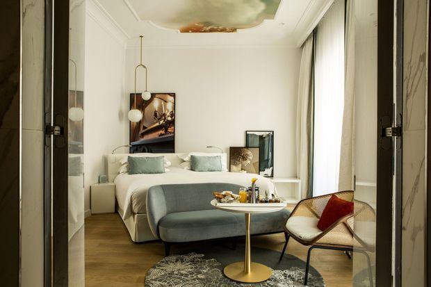 Une chambre du Sofitel Rome Villa Borghese.