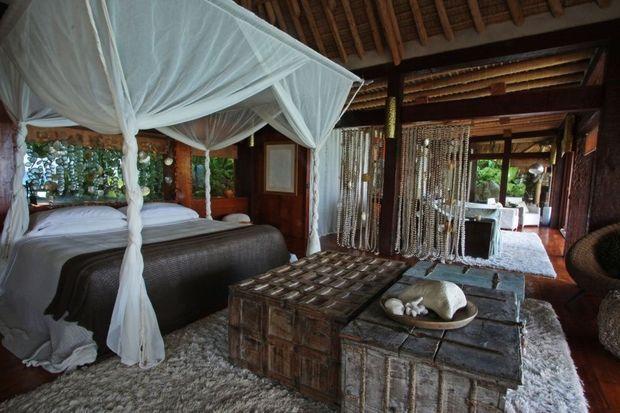 chambre villa North island seychelles-