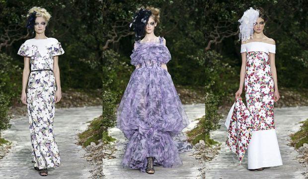 Chanel défilé printemps été 2013-