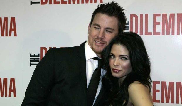 Channing Tatum et sa femme Jenna Dewa-