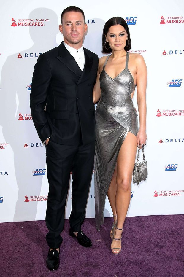 Channing Tatum et Jessie J vendredi soir à Los Angeles. Sur Instagram, l'acteur a écrit qu'il avait l'intention de «profiter de [sa] putain de soirée».
