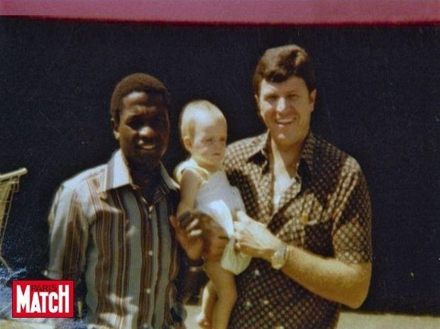 Charlene enfant père afrique sud-