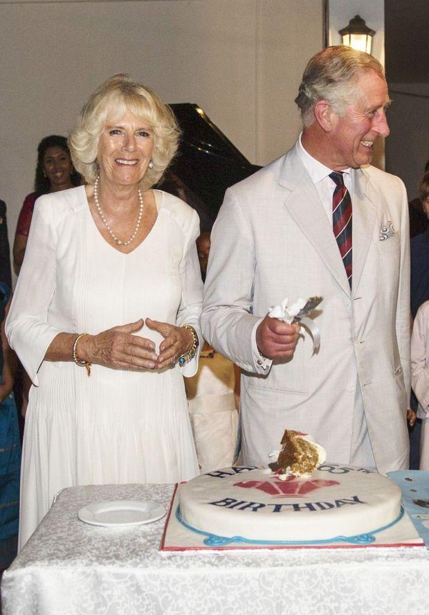 Charles fête son anniversaire avec Camilla au Sri Lanka