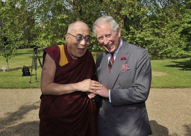 Fou rire avec le Dalaï-lama en 2012