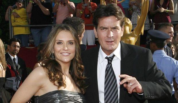 Charlie Sheen et Brooke Mueller-