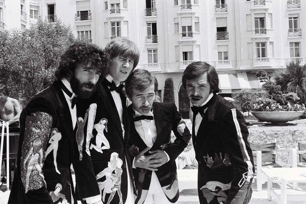 Les Charlots à Cannes en 1976.