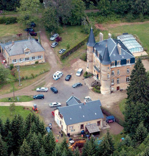 Le château du Sautou, dans les Ardennes, acheté 1,2 million de francs par Michel Fourniret.