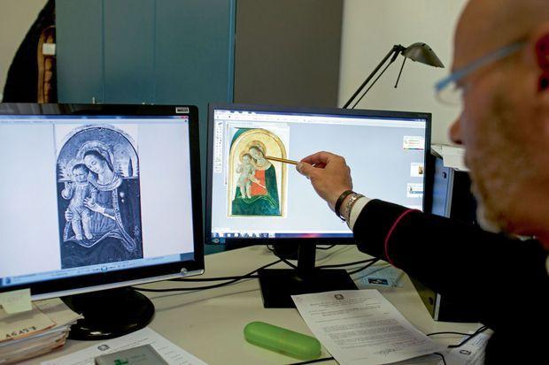 Un logiciel pour repérer, reconnaître, reconstituer Des tableaux ressurgissent sur le marché de l'art, maquillés ou morcelés.