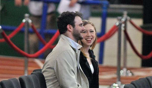 Chelsea Clinton et Marc Mezvinsky -