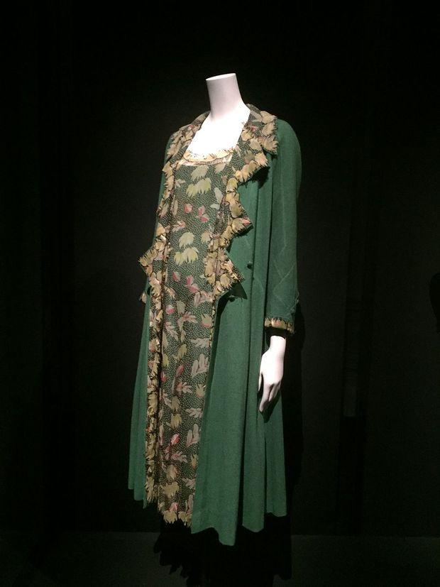 Photo prise lors de l'exposition consacrée à Gabrielle Chanel.