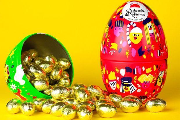Les créations de Pâques du Chocolat des Français.