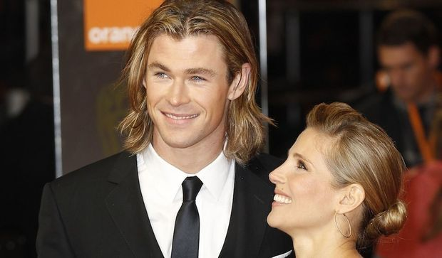 Chris Hemsworth et Elsa Pataky -