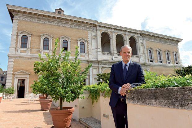 Christian Masset, ambassadeur à Rome (ici en 2017), a été rappelé « provisoirement » par la France le 7 février.
