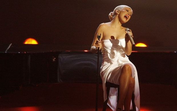 -Christina Aguilera concert--Christina Aguilera concert