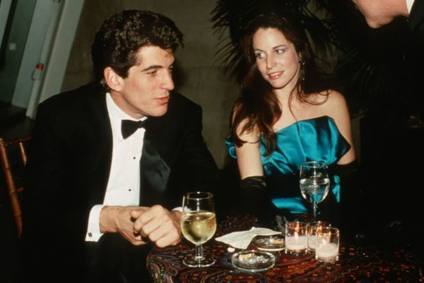 Christina Haag et John F. Kennedy Jr., à New York en 1988.