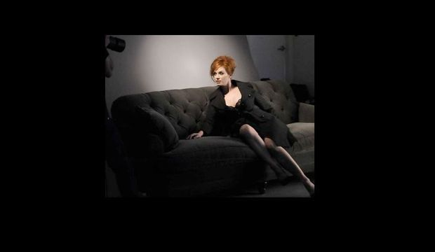 Christina Hendricks pour London Fog-
