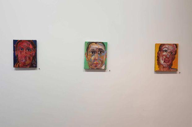 Des oeuvres de Christophe Dupety.