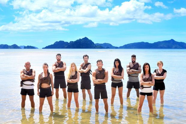 """Les 10 candidats de """"Cash Island""""."""