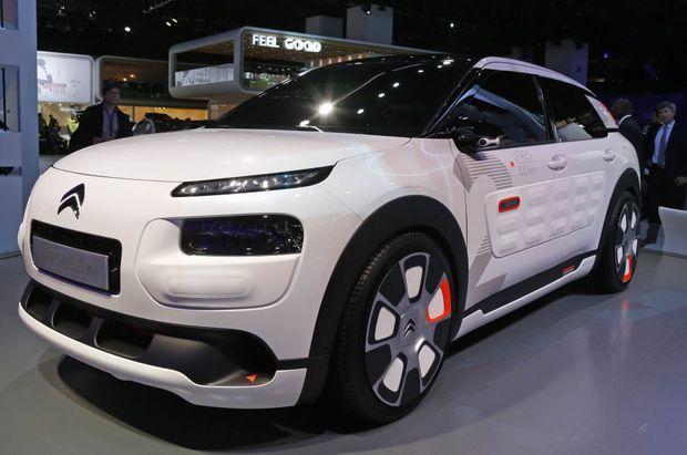 Le Citroën C4 Cactus Airflow 2L utilise la même technologie que la 208 HybridAir 2L.