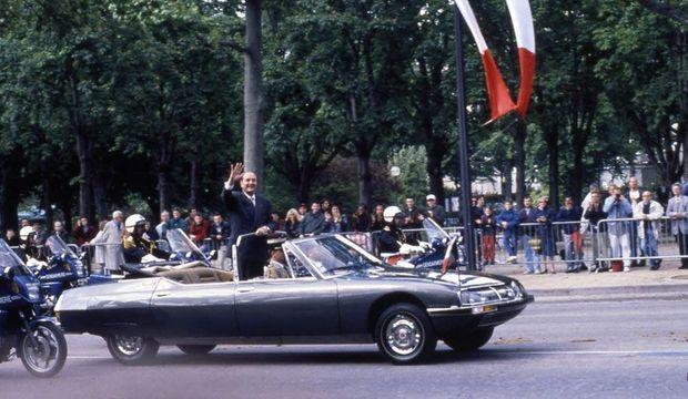 Citroën SM présidentielle Jacques Chirac-