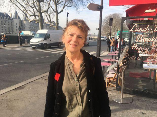 L'enseignante chercheuse Claire Lévy-Vroelant à Paris