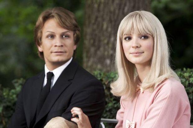 """Jérémie Renier et Joséphine Japy dans """"Cloclo"""", en 2012"""