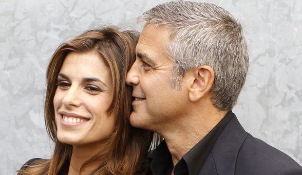 Clooney et Elisabetta-