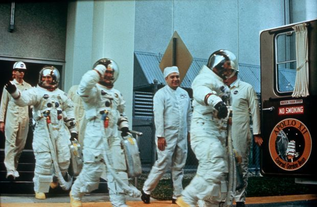 La mission Apollo 12 : Pete Conrad, Richard Gordon et Alan Bean