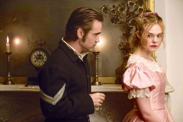Colin Farrell et Elle Fanning