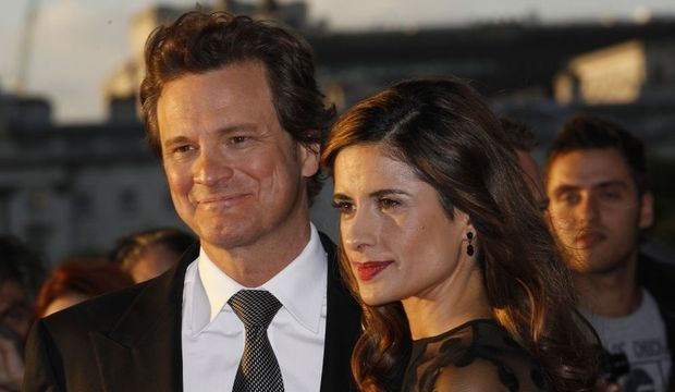 Colin Firth et Livia-