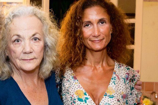 Coline Berry avec sa mère, Catherine Hiegel, en 2019.