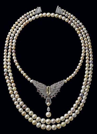 collier perle cartier
