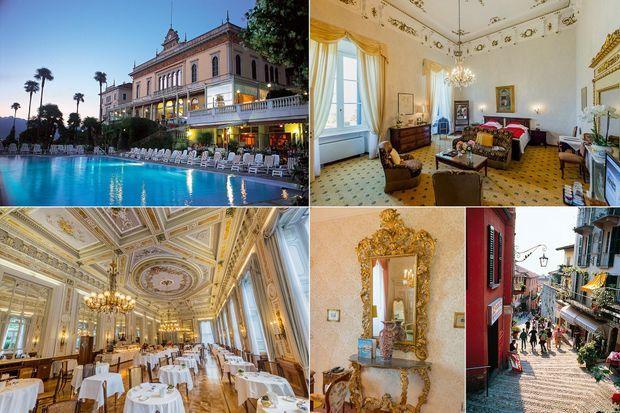 Le Grand Hotel Villa Serbelloni, au lac de Côme.
