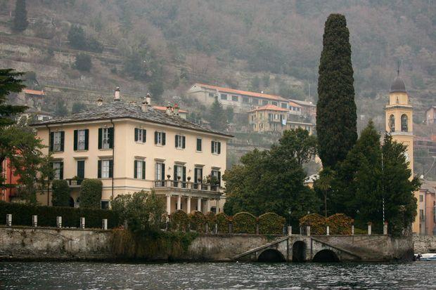 La Villa Oleandra, la maison d'Amal et George Clooney sur le lac de Côme.