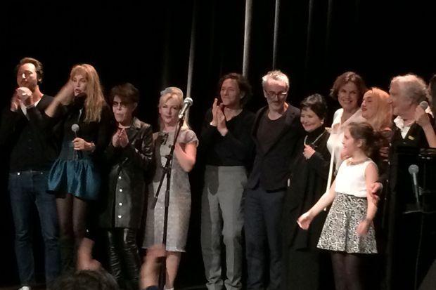 Doriand, Arielle Dombasle, Dani, Fifi Chachnil, Raphaël, Vincent Delerm, Marie-Josée Nat, Claire Nebout, Chloé Mons, Betty et Serge Rezvani.