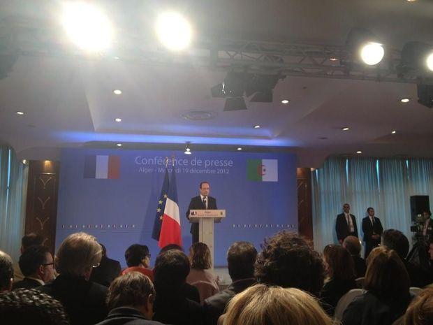 Conférence de presse Hollande-