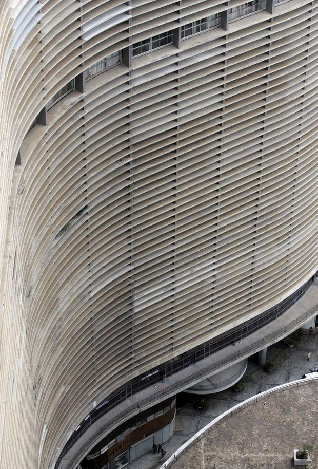 Copan Rio Paulo Whitaker Oscar Niemeyer-