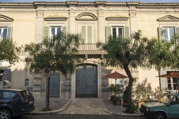 La façade de la villa Margherita, l'hôtel de la famille Coppola.