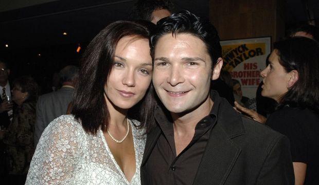 corey feldman et son épouse susie-