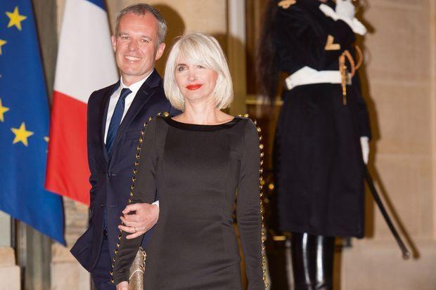 François et Séverine de Rugy, en mars 2018 lors d'un dîner à l'Elysée.