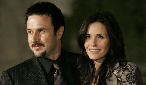 Courteney Cox et David Arquette -