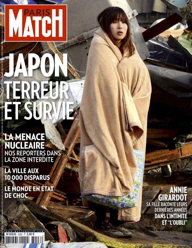 « Japon, terreur et survie » - Paris Match n°3226, 17 mars 2011.