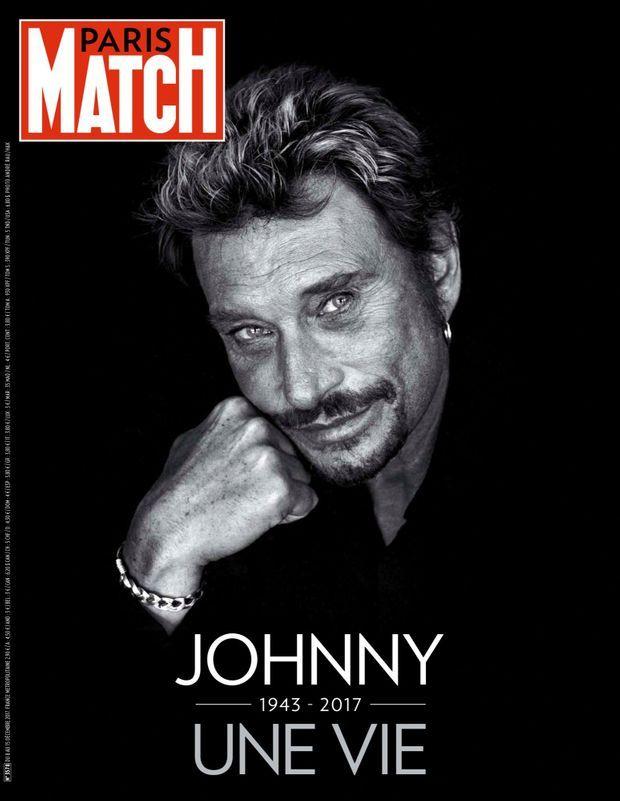 « Johnny, une vie » - Paris Match n°3578, 8 décembre 2017.
