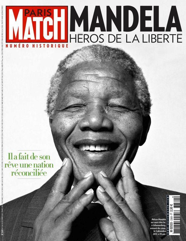 « Mandela, héros de la liberté » - Paris Match n°3369, 9 décembre 2013.