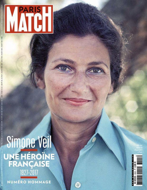« Simone Veil, une héroïne française » - Paris Match n°3555, 5 juillet 2017.