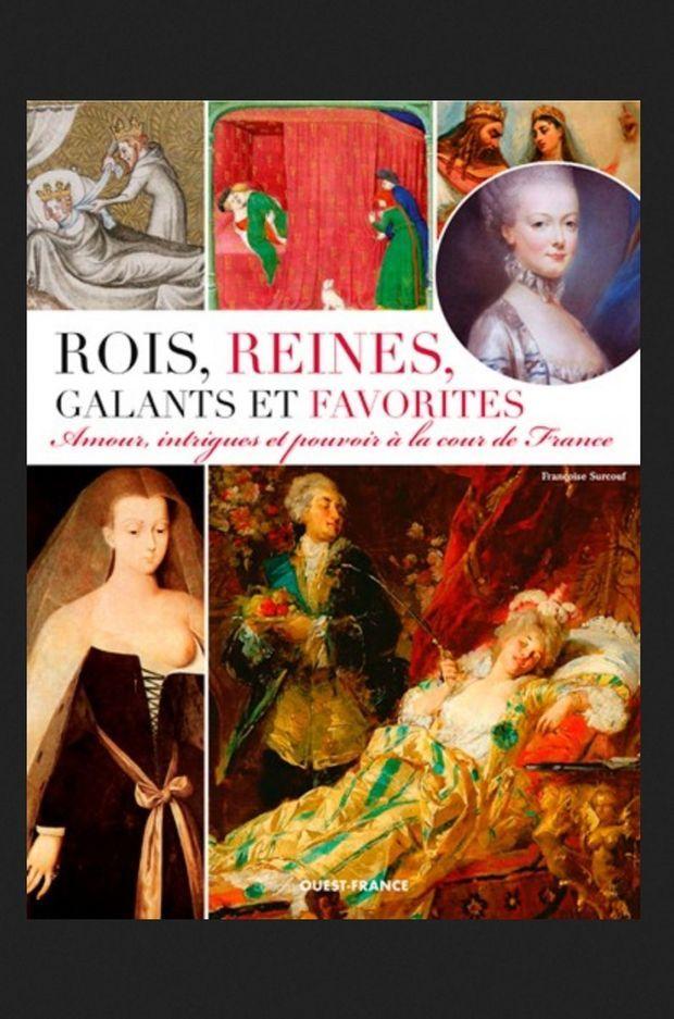 Couv livre F_Surcouf_ Rois reines galants et favorites